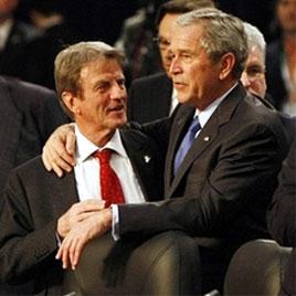 Bernard Kouchner - George Bush