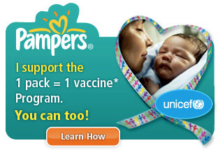 Pampers vaccine program